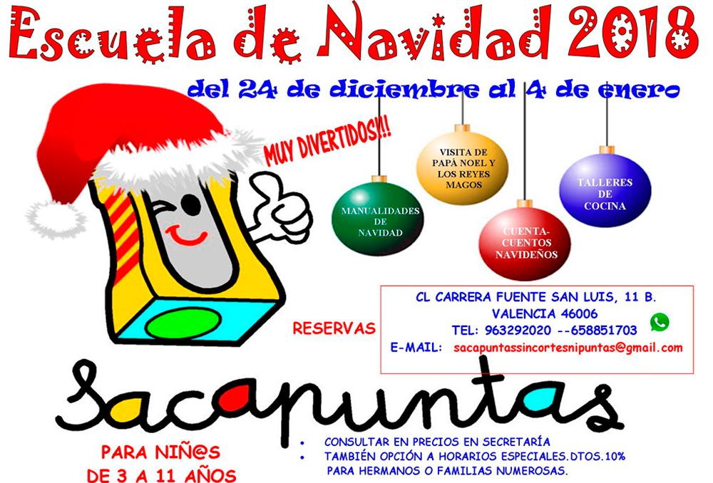 Curso de Navidad 2018 - 2019 en Valencia