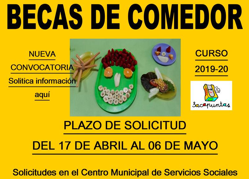Beca Comedor Sacapuntas Valencia