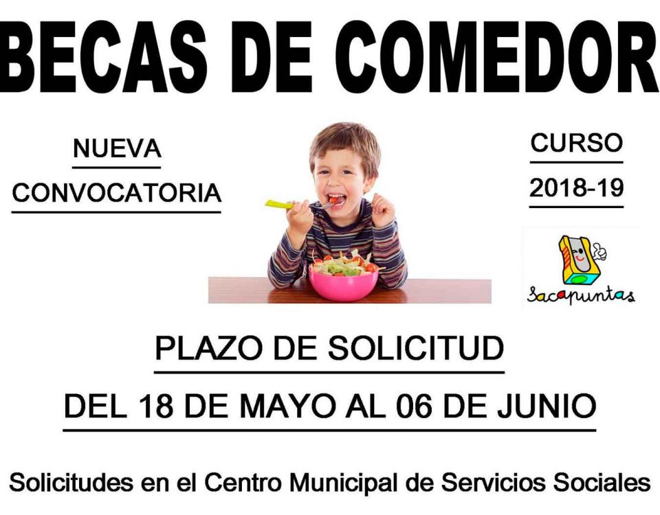 Becas de Comedor para escuela Infantil en Valencia