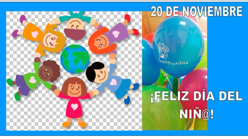 Día del niño 2018 en Sacapuntas sin cortes ni Puntas