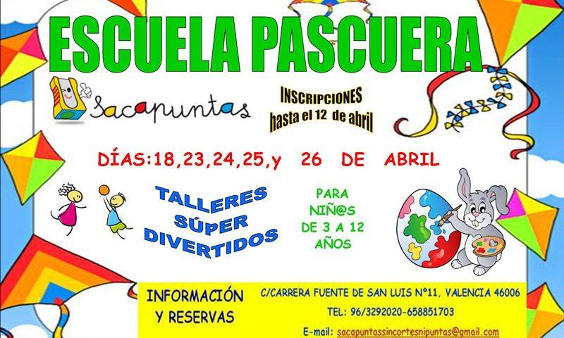 Escuela de pascua para niños en Ruzafa - Valencia