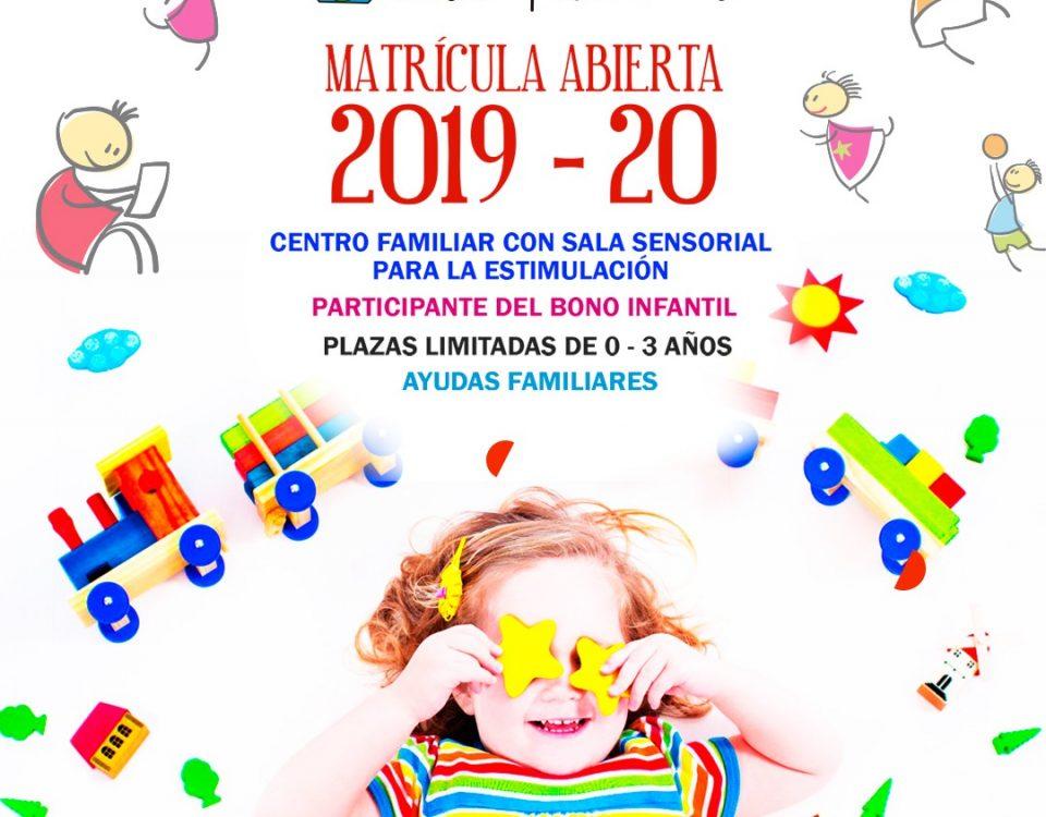 Matrícula Abierta 2019 - 2020